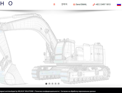 Website of the Joint Russian-Korean trade Enterprise