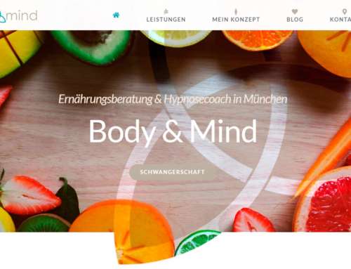 Personal website Nutrition & Hypnosis Coach in Munich — Body & Mind